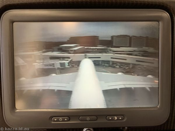 Tail camera on the A380
