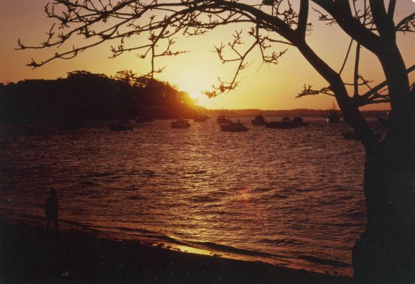 Sunset at Nelson Bay