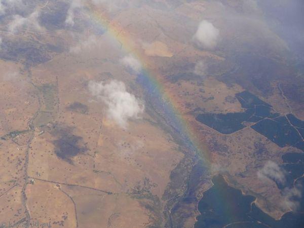 Rainbow over the ACT
