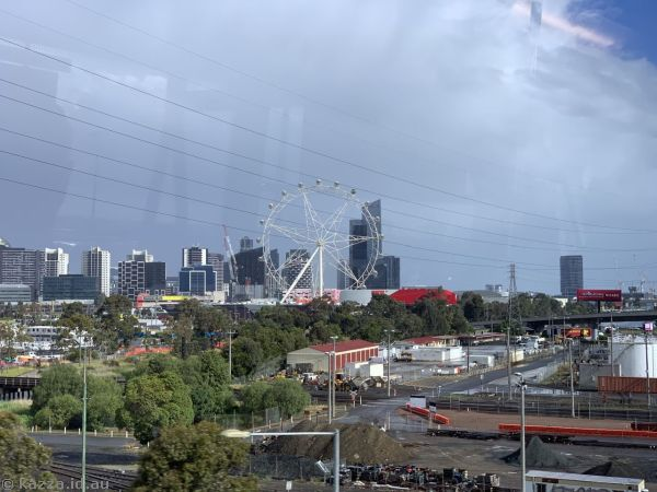 Docklands from the Sky Bus