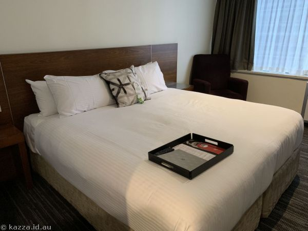 Our room at Rydges