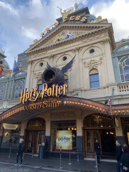 Harry Potter and the Cursed Child at the Princess Theatre