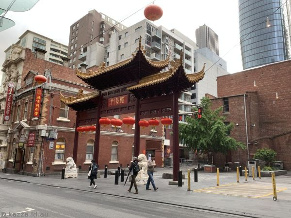 Building in Chinatown