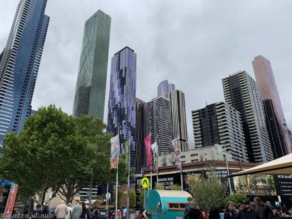 Melbourne from Queen Victoria Markets