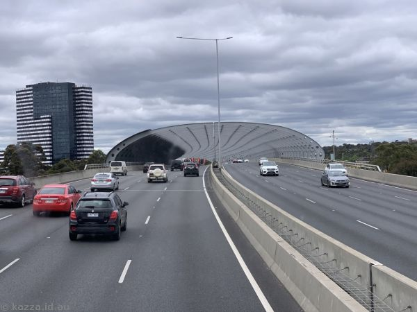 Approaching the Sound Tunnel on Citylink