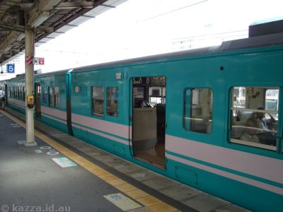 Train #5: Wakayama to Gobo