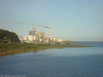 Factory at Udono