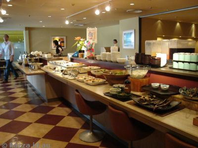 Breakfast bar at Chi-Sun Shin-Osaka