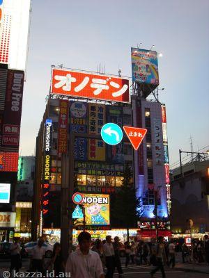 Lights in Akihabara