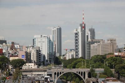 Looking towards Ochanomizu from a building in Akihabara