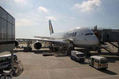 My first A380!