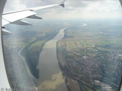 Rhine River near Frankfurt