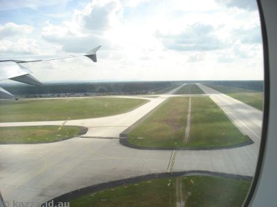 Runway 18, Frankfurt Airport (we took off on this later)