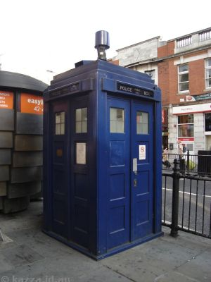 The Tardis!! At Earl's Court