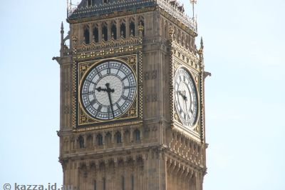 Clock face of Big Ben