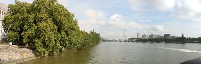 River Thames from Lambeth Bridge