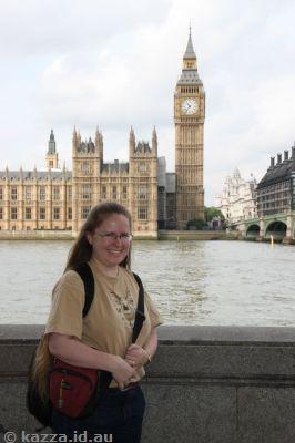 Me in London!!
