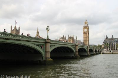 Westminster Bridge and Houses of Parliament