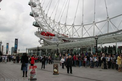 Queues for the London Eye