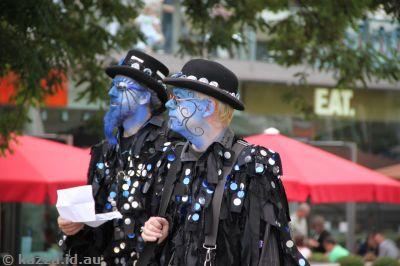 Blue Morris Dancers