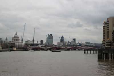 London CBD across the Thames