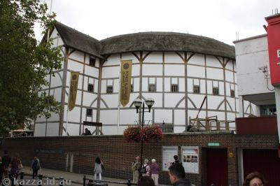 Shakespeare's Globe (it's only a model! shh!)