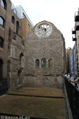 Winchester Palace - the remains of