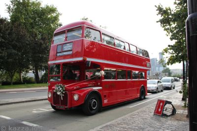 Old London red bus