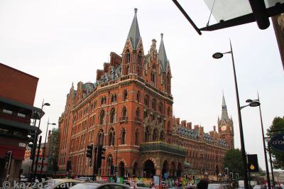 St Pancras Station - recognise this from Chamber of Secrets?