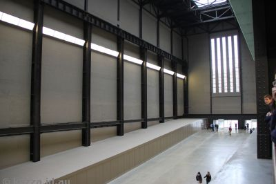 Interior of Tate Modern