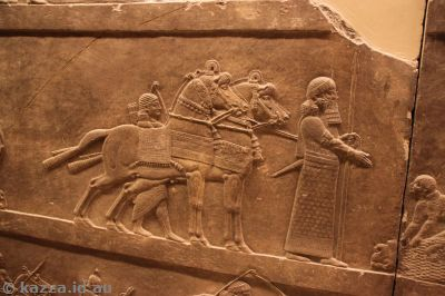 I loved the amazingly detailed stonework of the Assyrian pieces