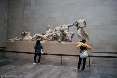Statues from the Parthenon