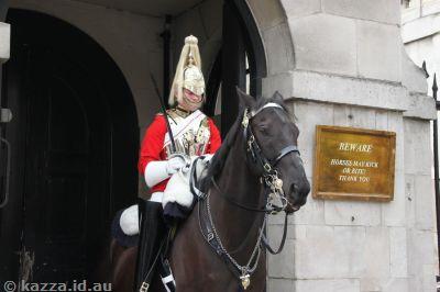 A horse guard