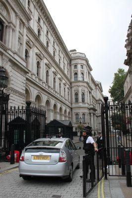 Entrance to Downing Street