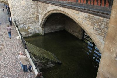 Traitors' Gate from the inside