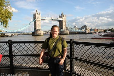 Obligatory me in front of Tower Bridge shot