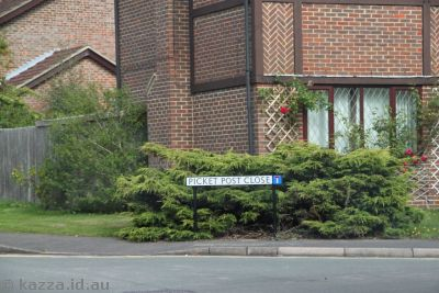 Picket Post Close - aka Privet Drive Little Whinging!