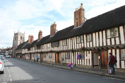 Medieval buildings in Stratford-Upon-Avon