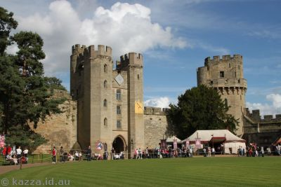Inner part of Warwick Castle