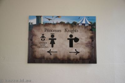 Princesses and Knights toilets