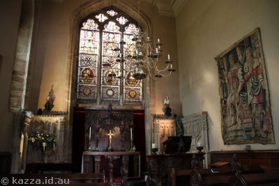 Chapel in Warwick Castle