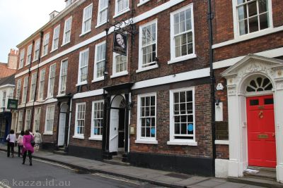 Guy Fawkes Inn - birthplace of Guy Fawkes