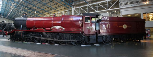 Hogwarts Express at the National Railway Museum