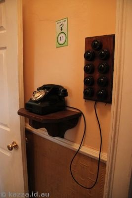 The hall phone
