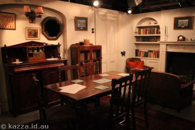 Dining room of the TV set