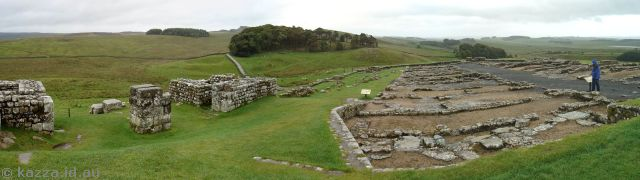 Housteads Roman Fort on Hadrian's Wall