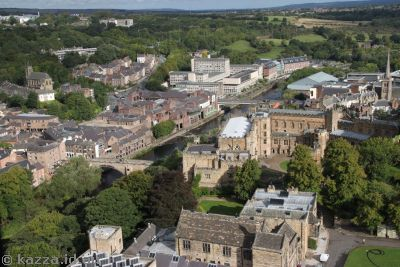 Durham from the tower