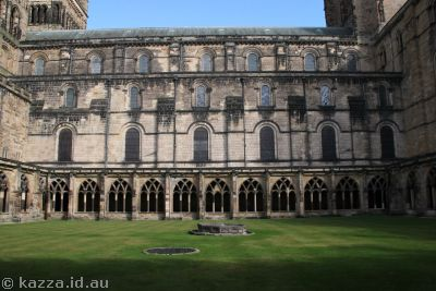 Courtyard of Durham Cathedral