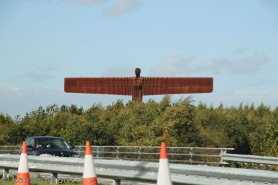 Angel of the North in sunlight this time