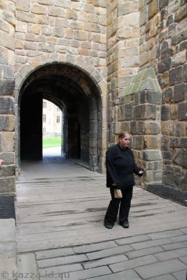 On the Broadswords to Broomsticks tour - that was our guide